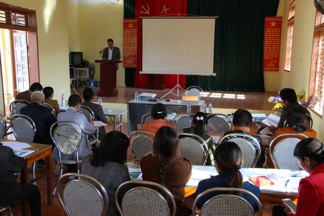 Sơn La: Tập huấn ứng phó biến đổi khí hậu trong sản xuất nông nghiệp - Ảnh 1.