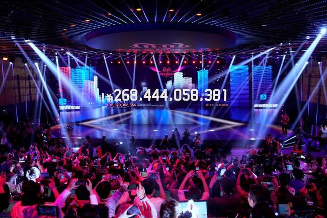 Alibaba bỏ túi 38,4 tỷ USD sau sự kiện Ngày độc thân - Ảnh 1.