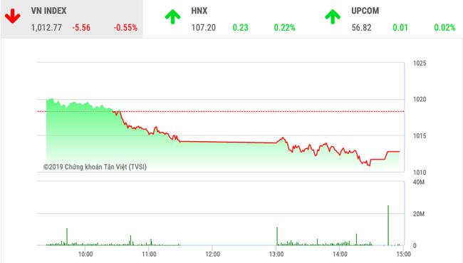 """Chứng khoán ngày 13/11: VnIndex """"thủng"""" mốc 1.015 điểm - Ảnh 1."""