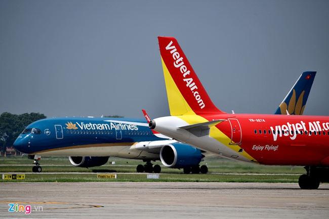 Bầu trời Việt chật chội, các hãng liên tục mở bay quốc tế - Ảnh 1.