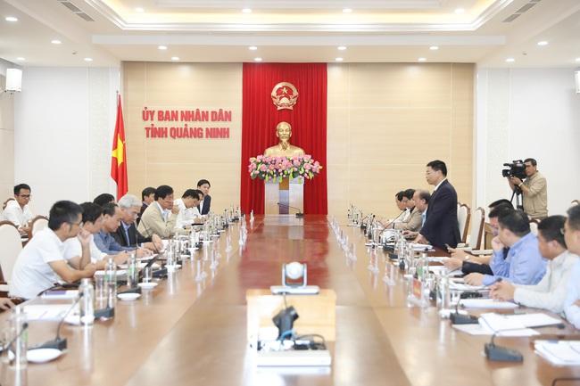 Quảng Ninh mời Tập đoàn Đèo Cả gỡ khó cho dự án cao tốc Vân Đồn – Móng Cái - Ảnh 1.