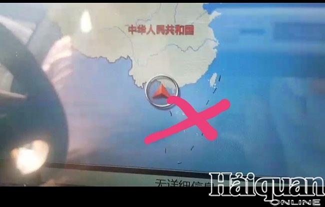 """Sẽ tịch thu 7 ô tô xuất xứ Trung Quốc có bản đồ """"đường lưỡi bò"""" - Ảnh 1."""