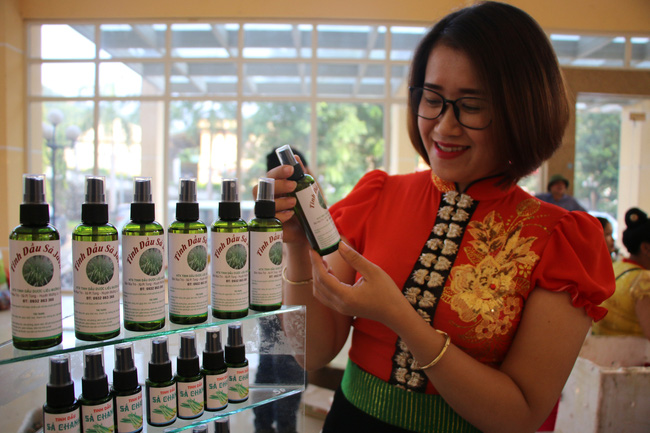 HTX tinh dầu dược liệu Mường La phát triển thương hiệu sản phẩm địa phương - Ảnh 4.