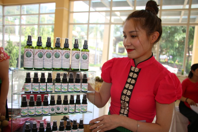 HTX tinh dầu dược liệu Mường La phát triển thương hiệu sản phẩm địa phương - Ảnh 1.