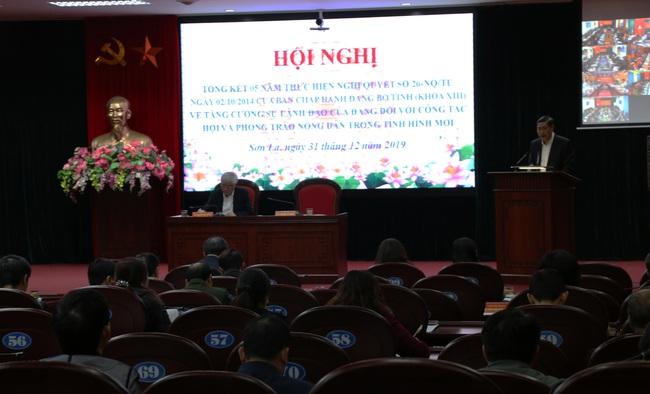 Sơn La: Tổng kết 5 năm thực hiện Nghị quyết 26 về tăng cường sự lãnh đạo của Đảng với phong trào nông dân - Ảnh 6.