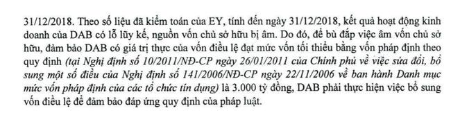 """Lộ lý do DongABank """"bất ngờ"""" tiến hành ĐCHĐ bất thường sau 4 năm bị kiểm soát đặc biệt - Ảnh 2."""