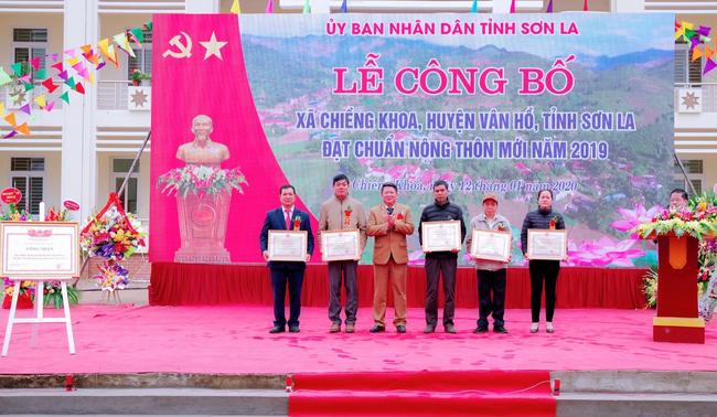 Sơn La thêm xã thứ 41 về đích nông thôn mới - Ảnh 4.
