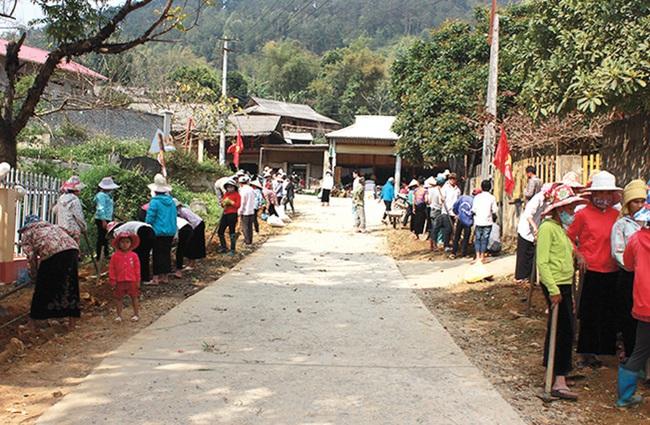 """Xã vùng cao Yên Bái """"thay da đổi thịt"""" từ xây dựng nông thôn mới - Ảnh 3."""