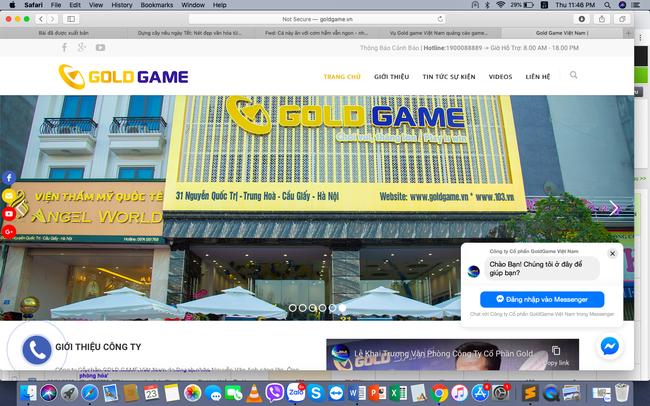 Vụ Gold game Việt Nam quảng cáo game khi chưa được phép: Gold game âm thầm gỡ bỏ quảng cáo - Ảnh 1.