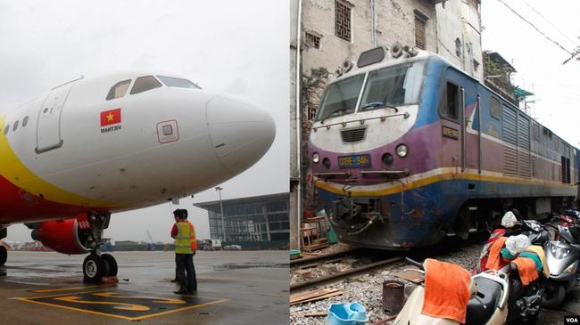 """Đường sắt thua kém hàng không giá rẻ, """"khó vì thiếu vốn""""? - Ảnh 2."""