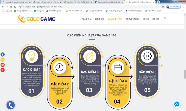 Chưa được cấp phép, Gold game Việt Nam đã quảng cáo rầm rộ game dự đoán kết quả bóng đá - Ảnh 2.