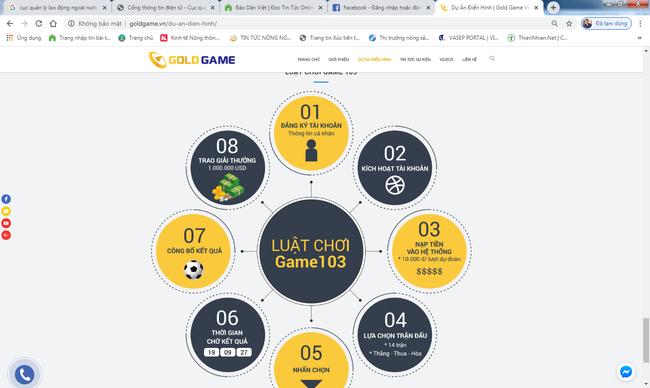 Chưa được cấp phép, Gold game Việt Nam đã quảng cáo rầm rộ game dự đoán kết quả bóng đá - Ảnh 3.
