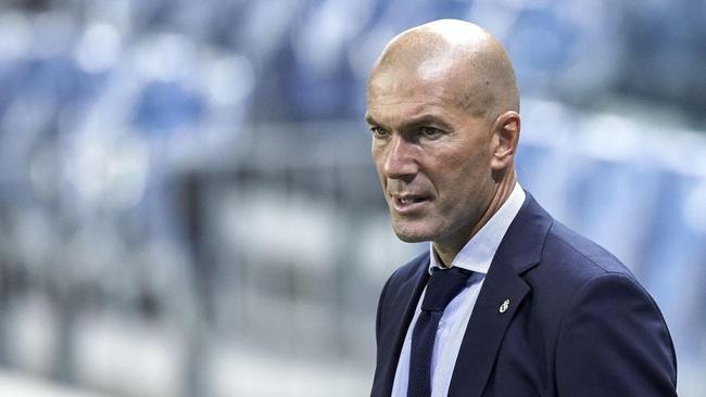 Zidane ấn tượng với Vinícius Júnior