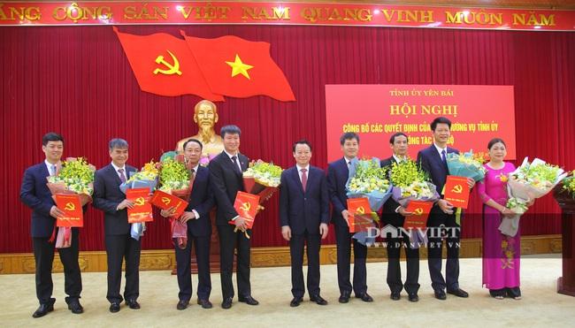 Sau Đại hội Yên Bái điều động, phân công 21 cán bộ chủ chốt của tỉnh - Ảnh 2.