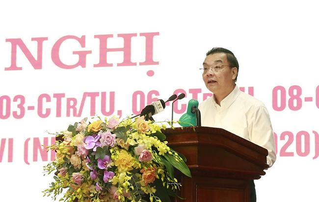 Chủ tịch UBND Hà Nội Chu Ngọc Anh: Kiên quyết xử lý những đơn vị, cá nhân vi phạm - Ảnh 1.