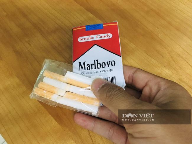 Thực hư thông tin kẹo ăn vào nhả khói như thuốc lá tại Hà Nội - Ảnh 3.