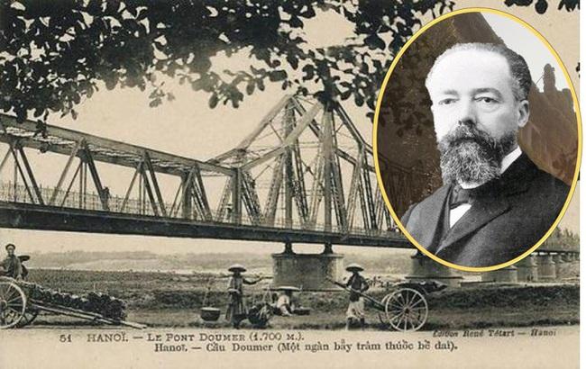 Hé lộ chuyện Toàn quyền Đông Dương Paul Doumer xây cầu Long Biên ở Hà Nội - Ảnh 1.
