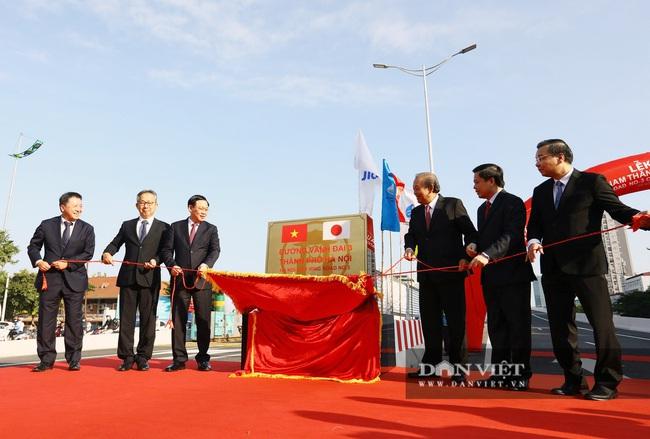 Thông xe đường vành đai 3 trên cao Mai Dịch - cầu Thăng Long trị giá hơn 5.000 tỷ đồng - Ảnh 3.
