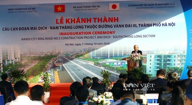 Thông xe đường vành đai 3 trên cao Mai Dịch - cầu Thăng Long trị giá hơn 5.000 tỷ đồng - Ảnh 4.