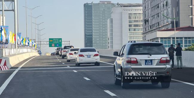 Thông xe đường vành đai 3 trên cao Mai Dịch - cầu Thăng Long trị giá hơn 5.000 tỷ đồng - Ảnh 5.