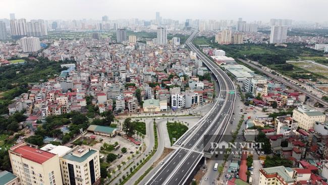 Thông xe đường vành đai 3 trên cao Mai Dịch - cầu Thăng Long trị giá hơn 5.000 tỷ đồng - Ảnh 6.