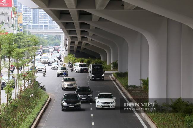 Thông xe đường vành đai 3 trên cao Mai Dịch - cầu Thăng Long trị giá hơn 5.000 tỷ đồng - Ảnh 9.