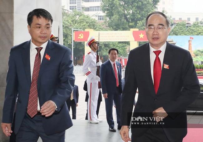 Hình ảnh Tổng Bí thư, Chủ tịch nước và lãnh đạo Đảng, Nhà nước dự Đại hội Đảng bộ TP.Hà Nội - Ảnh 7.