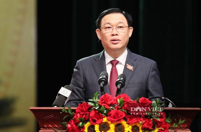 Hình ảnh Tổng Bí thư, Chủ tịch nước và lãnh đạo Đảng, Nhà nước dự Đại hội Đảng bộ TP.Hà Nội - Ảnh 15.