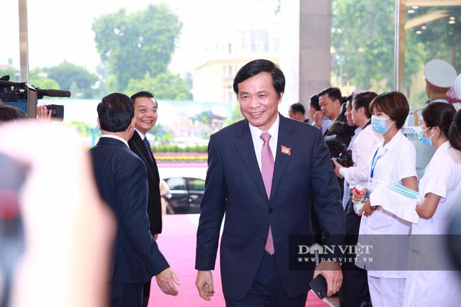 Chùm ảnh: Tổng Bí thư, Chủ tịch nước và lãnh đạo Đảng, Nhà nước dự Đại hội Đảng bộ TP Hà Nội - Ảnh 8.