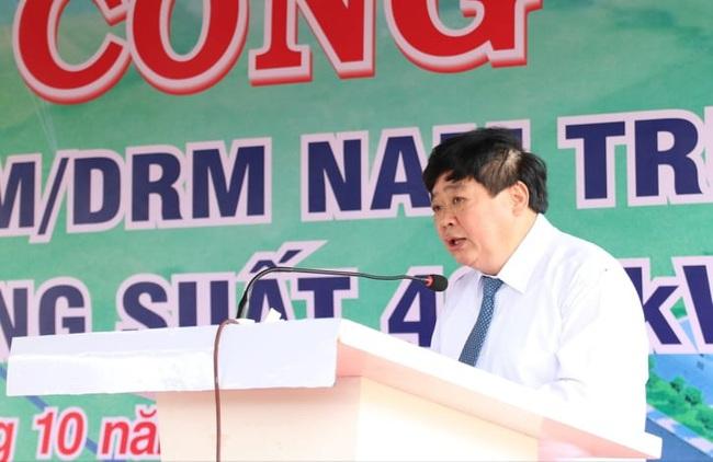 VOV khởi công xây dựng Đài phát sóng Nam Trung bộ tại tỉnh Ninh Thuận - Ảnh 1.