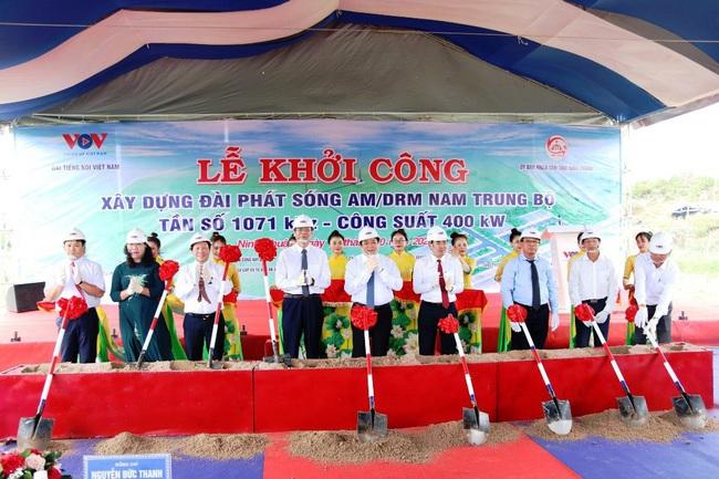 VOV khởi công xây dựng Đài phát sóng Nam Trung bộ tại tỉnh Ninh Thuận - Ảnh 2.