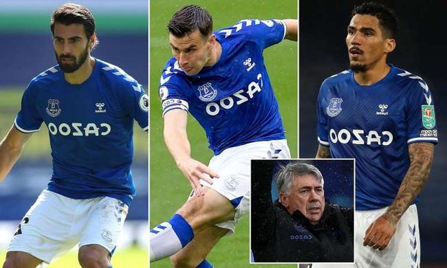 Everton đón 3 ngôi sao trở lại sau chấn thương