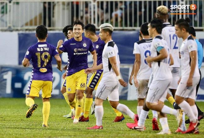"""""""Trung vệ ghi bàn"""" của Hà Nội FC có hiệu suất hơn cả Quang Hải - Ảnh 1."""