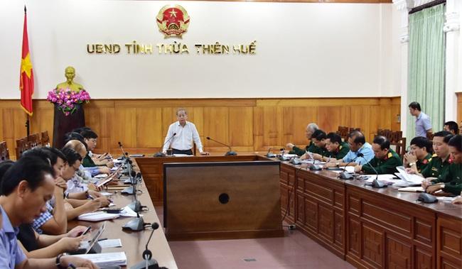Chủ tịch TT-Huế chia sẻ lý do báo chí không được vào hiện trường vụ sạt lở Rào Trăng 3  - Ảnh 1.