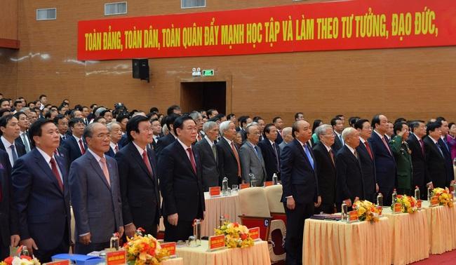 Khai mạc Đại hội Đảng bộ tỉnh Nghệ An lần thứ XIX   - Ảnh 2.