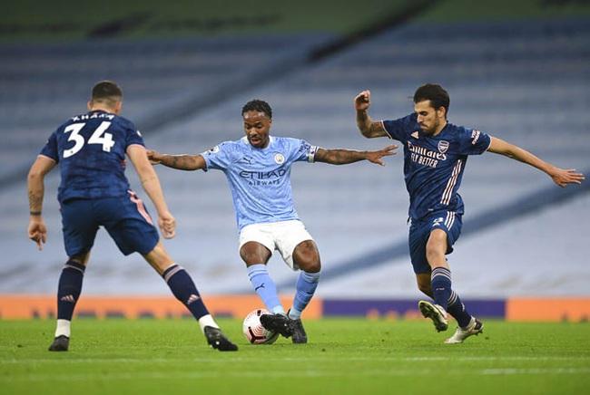 Man City thắng Arsenal, HLV Guardiola ra sức bảo vệ Aguero - Ảnh 1.
