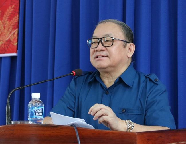 Chủ tịch Hội NDVN Thào Xuân Sùng dự Lễ khai giảng lớp Trung cấp chuyên ngành Thú y tại Ninh Thuận - Ảnh 2.
