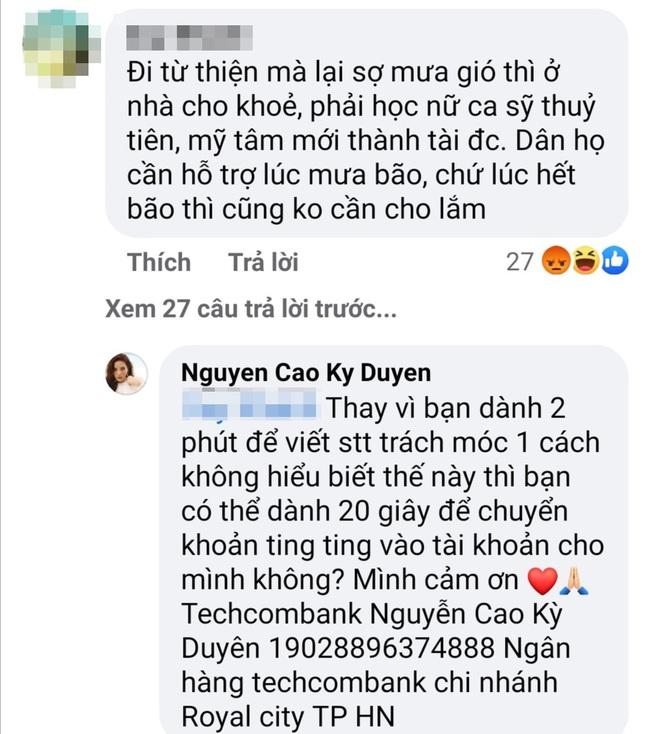 Kỳ Duyên thay đổi lịch từ thiện ở Quảng Trị, bị anti-fan tranh thủ mỉa mai - Ảnh 3.