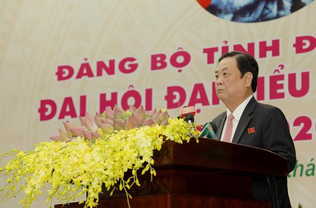 """Ông Lê Minh Hoan """"nhìn thẳng, nói thật"""" những gì khi phát biểu tại Đại hội Đảng bộ tỉnh Đồng Tháp? - Ảnh 1."""