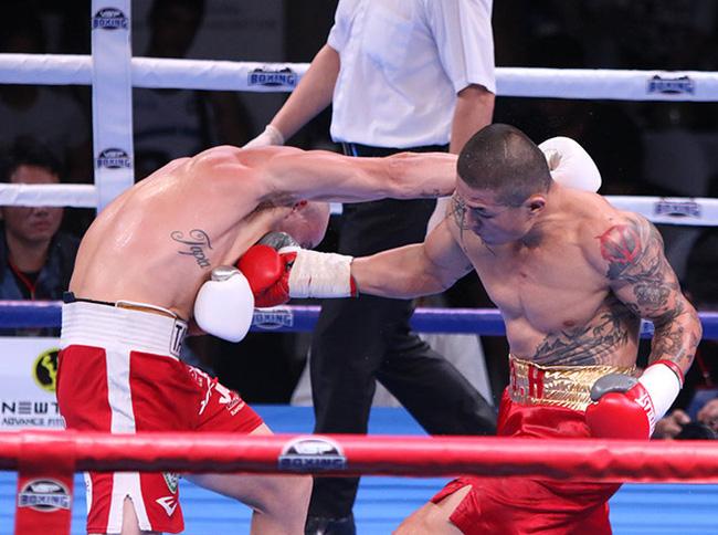 Clip: Trương Đình Hoàng bị xử thua uất ức ở trận boxing 400 triệu đồng - Ảnh 1.