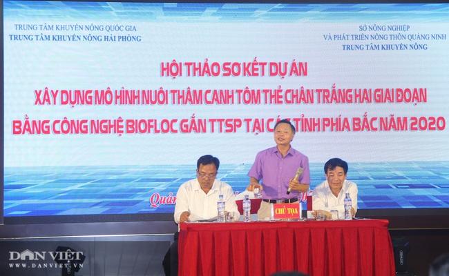 """Quảng Ninh """"đi sau về trước"""" trong việc áp dụng nuôi thâm canh tôm bằng công nghệ Biofloc - Ảnh 1."""