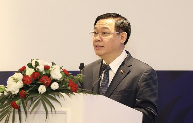 """Bí thư Vương Đình Huệ: """"Đại sứ Hàn Quốc hỏi Hà Nội có kỳ tích sông Hồng không... phải có quy hoạch phát triển"""" - Ảnh 1."""