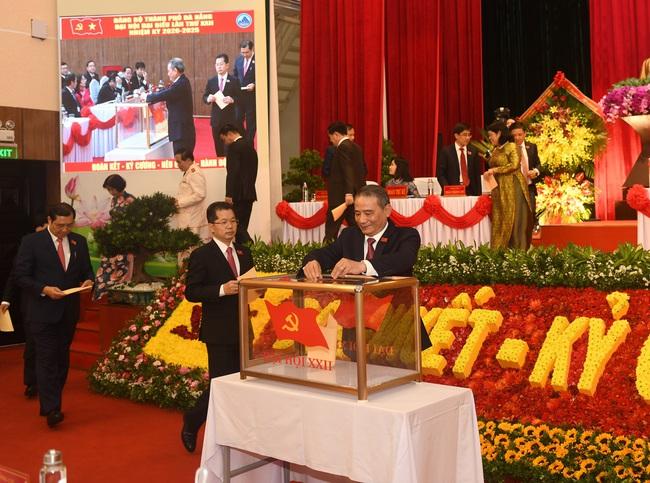 Đà Nẵng đã có Ban chấp hành Đảng bộ nhiệm kỳ mới, chưa công bố Bí thư khóa mới - Ảnh 1.