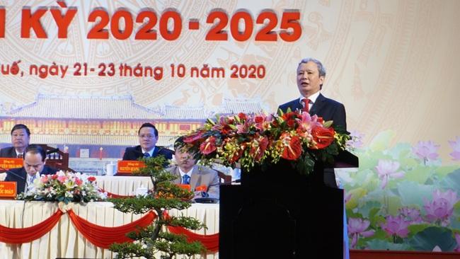Ông Lê Trường Lưu tái đắc cử Bí thư Tỉnh ủy Thừa Thiên Huế với số phiếu tuyệt đối  - Ảnh 1.