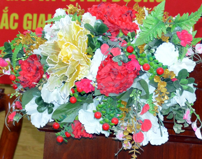 Đại hội Đảng bộ tỉnh Cà Mau không nhận hoa chúc mừng - Ảnh 1.