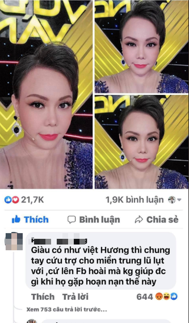 """Từ Thủy Tiên, Đàm Vĩnh Hưng, Phi Nhung... bị """"nhắc khéo"""" ủng hộ miền Trung: Nghệ sĩ có đáng bị chỉ chỉ trích? - Ảnh 4."""