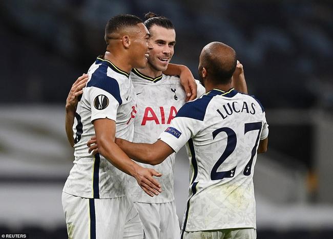 Bale để lại dấu ấn trong ngày đá chính cho Tottenham
