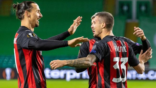 Ibra là điểm tựa tinh thần cho AC Milan
