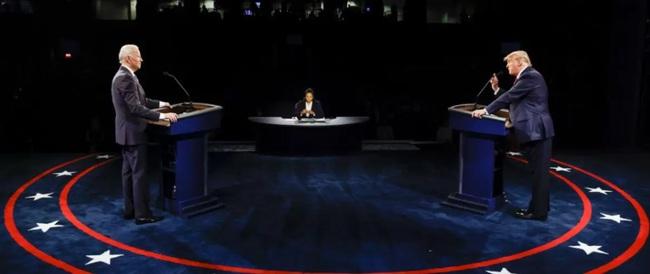 """Trump nói nhiều hơn Biden trong trận """"đấu khẩu"""" cuối cùng: Nhưng ai thắng ai thua? - Ảnh 1."""