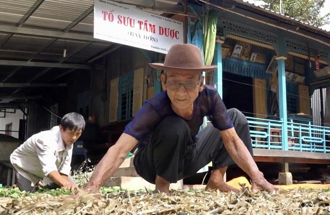 An Giang: Ông nông dân hơn 90 tuổi và hành trình 40 năm tìm thuốc cứu người - Ảnh 1.